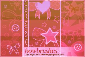 Bowbrushes For Gimp