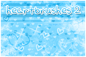 Heartbrushes 2 by inge123