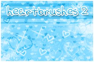 Heartbrushes 2 by inge123