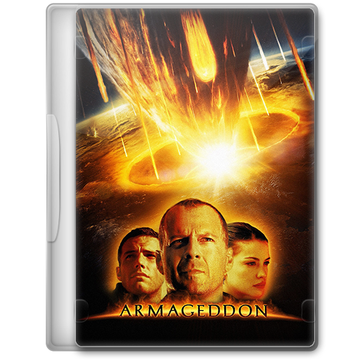 Armageddon 1998 Movie Dvd Icon By A Jaded Smithy On Deviantart