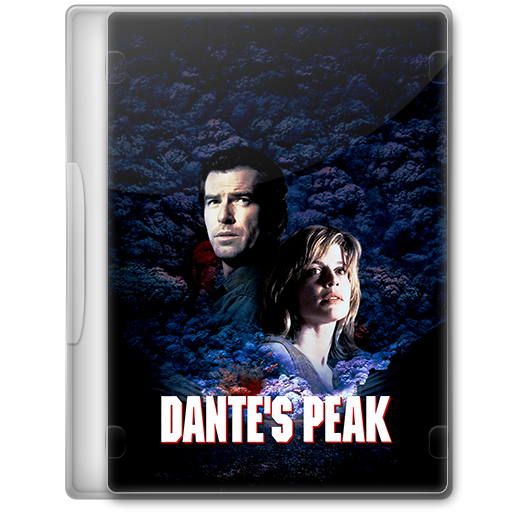 Dante S Peak 1997 Movie Dvd Icon By A Jaded Smithy On Deviantart