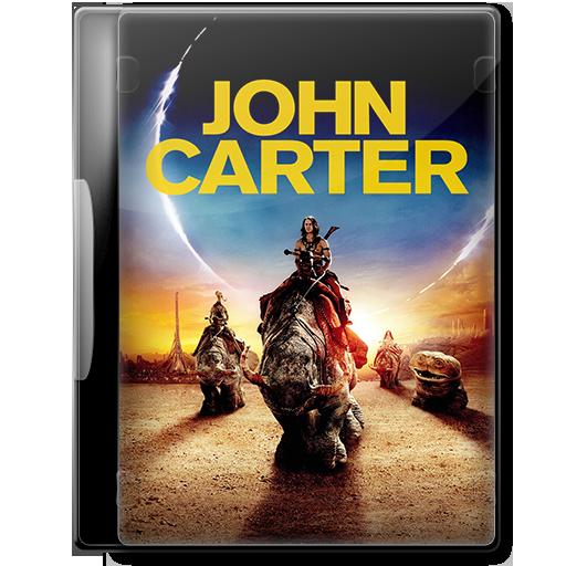 John Carter 2012 Movie Dvd Icon By A Jaded Smithy On Deviantart
