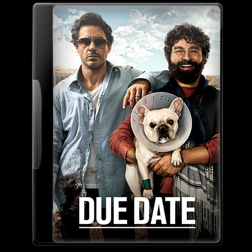Due Date 2010 Movie Dvd Icon By A Jaded Smithy On Deviantart