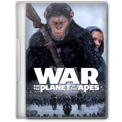 War For The Planet Of The Apes 2017 Dvd Icon By A Jaded Smithy On Deviantart