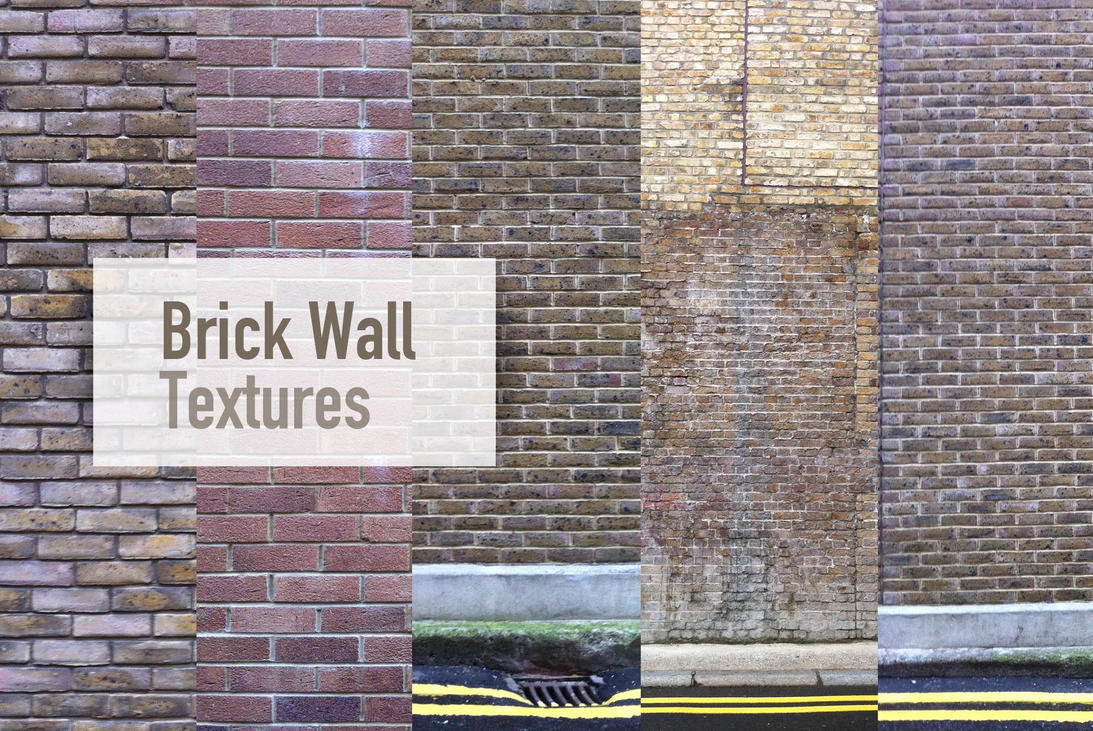 Brick Wall Textures by tastytuts