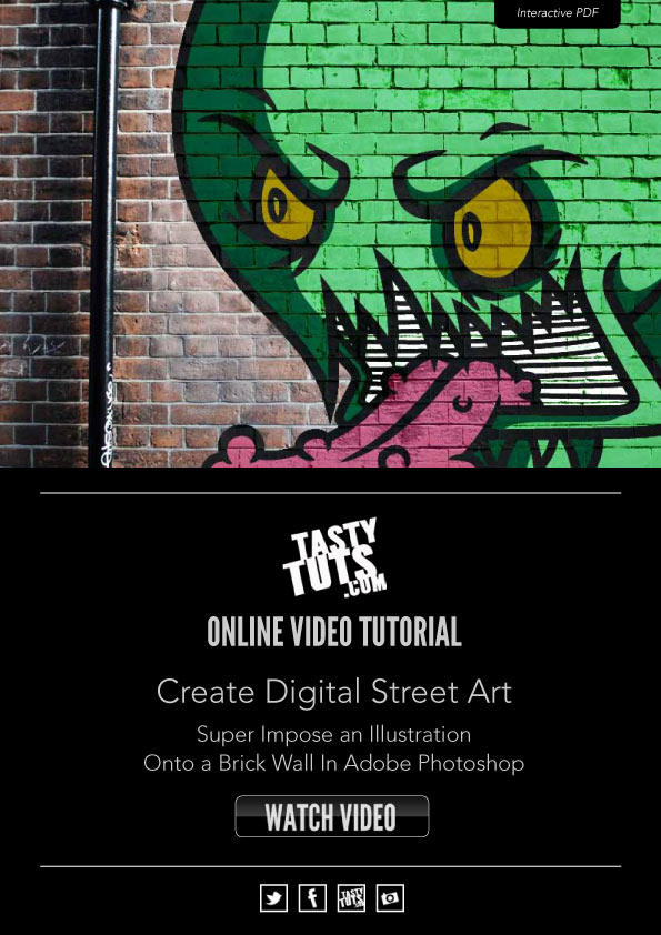 Create Digital Street Art by tastytuts
