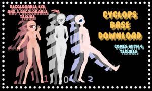 mmd Cyclops Base download