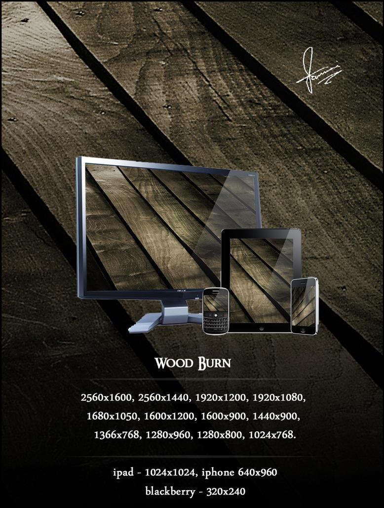 Wood Burn by speedrahul
