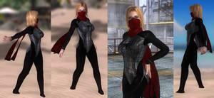 Tina Spider Blacksuit Elkordy