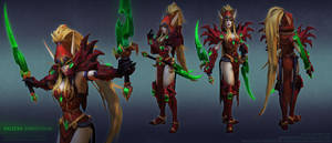 Valeera for Heroes of the Storm by FirstKeeper