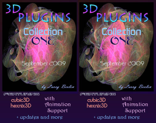 3D Plugins Collection One