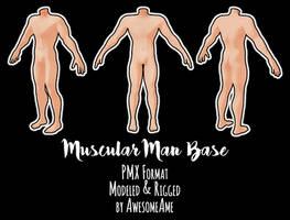 MMD | Muscular Man Base | Download