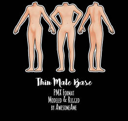 MMD   Thin Male Base   Download