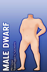 MMD   Body   Male Dwarf   Download by AwesomeAme
