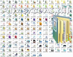 Almercons.dll Win 7 Icon File by Elmer-BeFuddled
