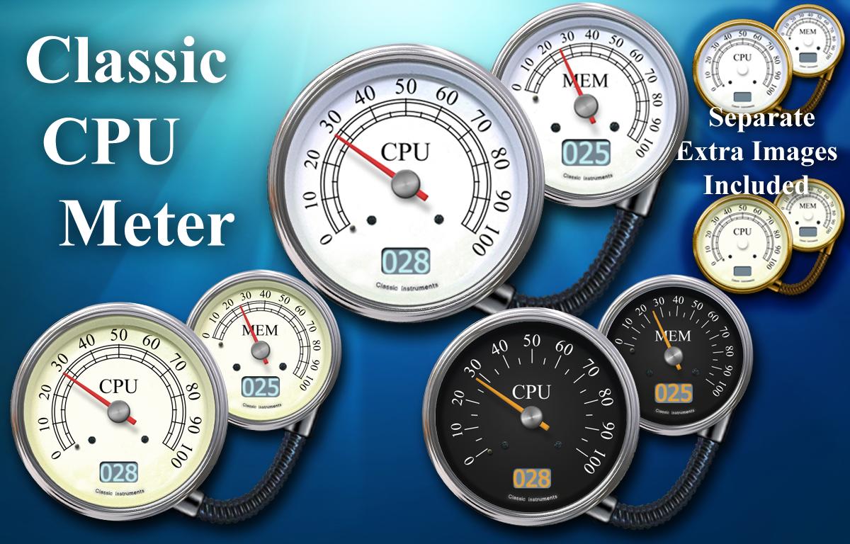Classic Cpu Meter By Elmer Befuddled On Deviantart
