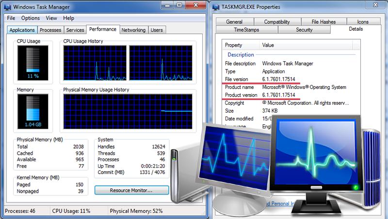 Win 7 SP1 Blue Task Manager by Elmer-BeFuddled on DeviantArt