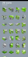 3D glosy icons sale