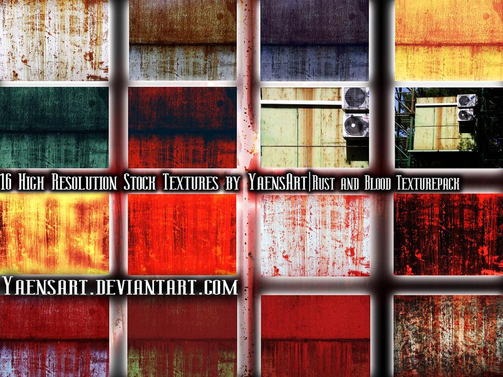 Rust and Blood etc. Texturepack by YaensArt