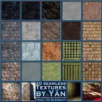 20 Seamless Textures by YaensArt
