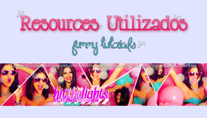 Resources Utilizados by LovesickEditions
