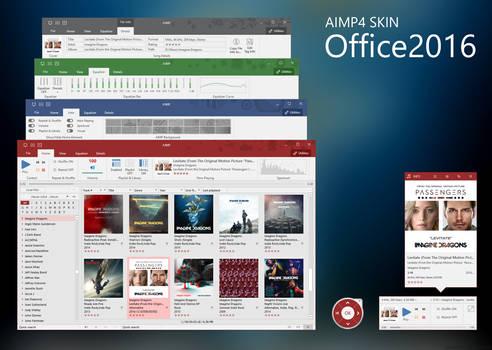 Office2016 AIMP4 Skin
