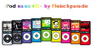 iPod nano 4G pxl Pack by Fleischparade
