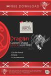 Dragon Custom Shape Stock