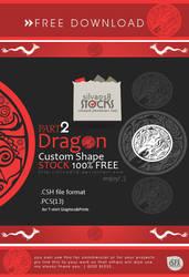 Dragon Custom Shape Part2 by silva018