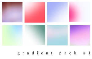 Gradient Pack 1 by shapeshiftesque