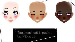 Tda head edit pack DOWNLOAD!