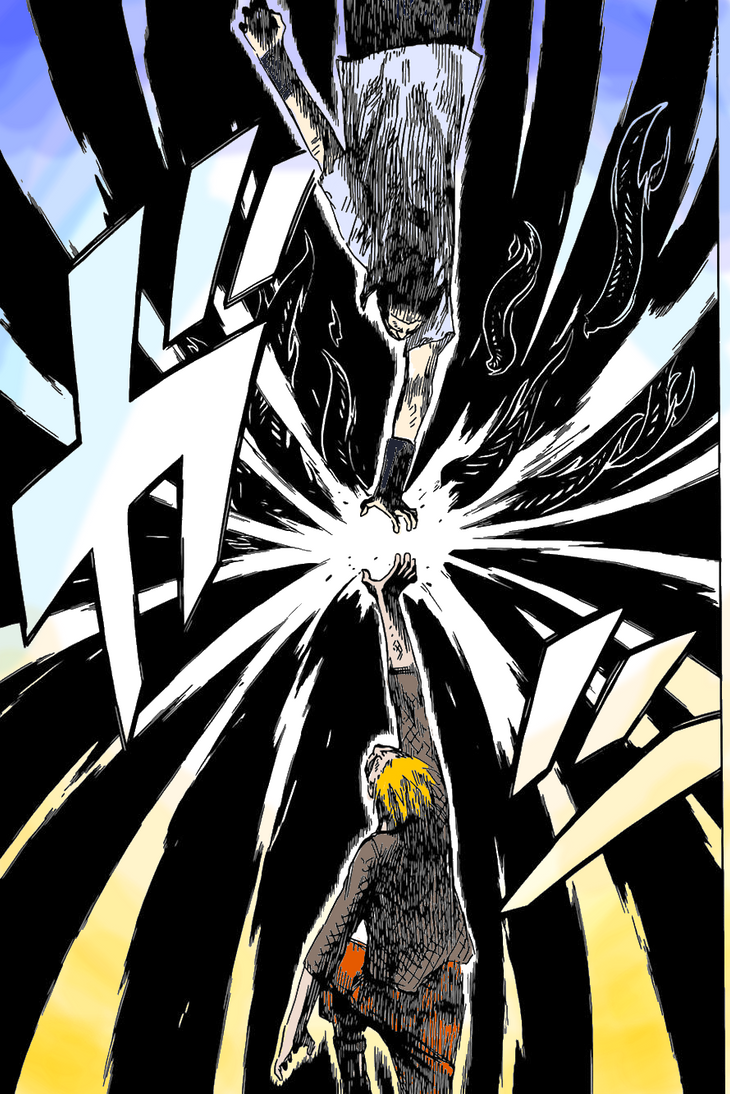 Naruto 698 Page 6 Colouring by arts-an-explosion