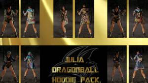 Julia Dragonball Hoodie Pack