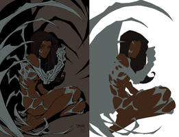 Witchblade Flats by TimareeZadel