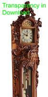 Grandfather clock 12