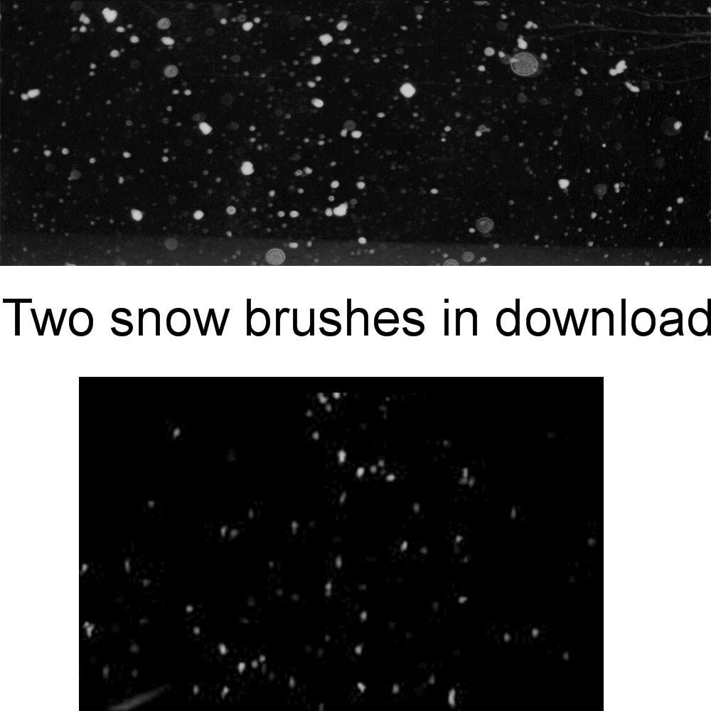 Snow Brushes by BrokenFeline-Stock on DeviantArt