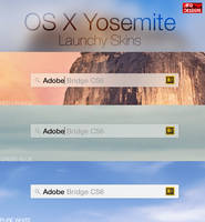 OS X Yosemite Launchy Skins by AFGdesign