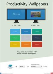 Modern UI Productivity Wallpapers