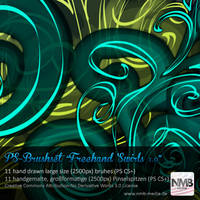 Freehand Swirls v.1 by Hexe78
