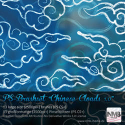 Chinese Cloud Brushes v.1