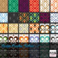 83 Pattern Styles - 1960's Wallpaper Design by Hexe78
