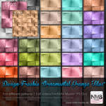 118 Ornamental Grunge Tiles PS CS+