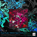 18 PS CS+ Distorted Liquid Ripple Brushes v2 rough