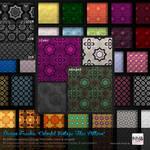 80 PS CS+ Colorful Vintage Floor Tiles Pattern