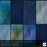 Texture Stock Pack #2 Painted Backgrounds (blue) by Hexe78