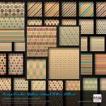 110 PS CS+ Vintage Colored Motive Pattern
