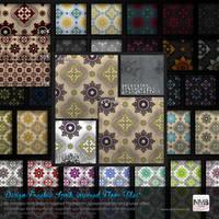 98 PS CS+ Iznik inspired Floor Tile Pattern by Hexe78