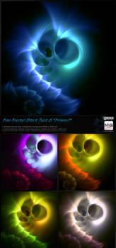 Fractal Stock Pack 8 Primeval (transparent PNG)