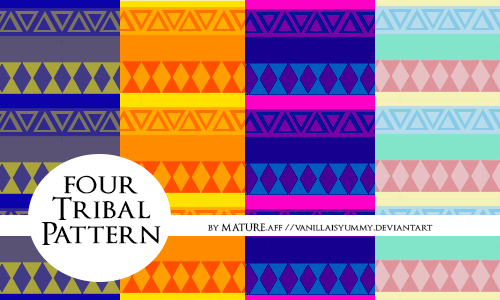 Tribal PATTERN [Laced by Mature] by vanillaisyummy