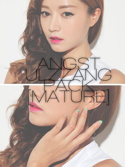 HQ ULZZANG ANGST STOCK 01 by vanillaisyummy